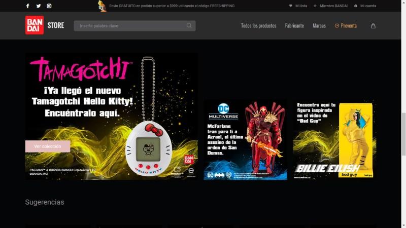 Bandai Collectors Shop: tienda en línea de Bandai México de figuras coleccionables - bandai_collectors_shop_tienda_oficial-800x450