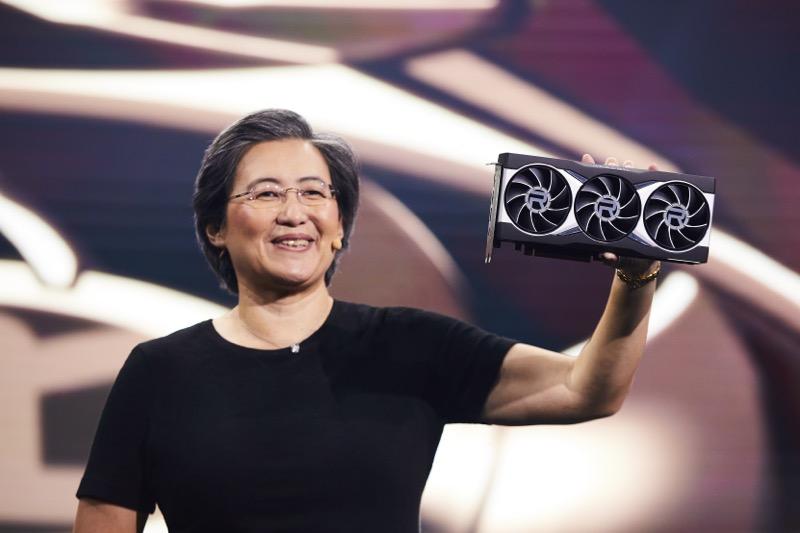 AMD presentó las Tarjetas Gráficas AMD Radeon RX Serie 6000 - dr-lisa-su_on-stage_8-800x533
