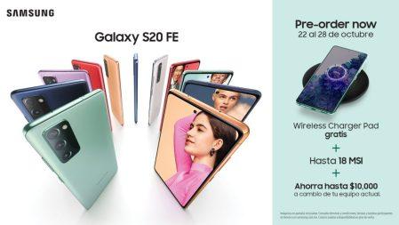 Inicia preventa del Galaxy S20 Fan Edition (S20 FE) en México