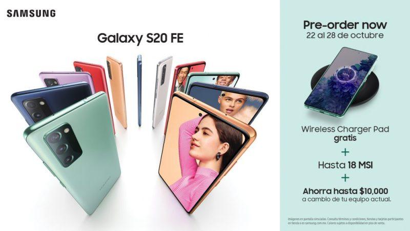 Inicia preventa del Galaxy S20 Fan Edition (S20 FE) en México - galaxy-s20-fe-800x450