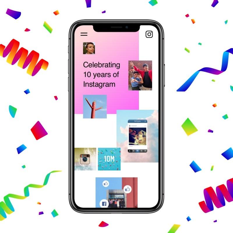 Instagram celebra sus 10 años compartiendo algunos datos curiosos - instagram-aniversario