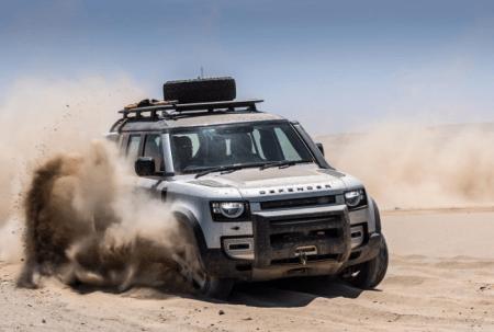 Jaguar Land Rover utiliza tecnología aeroespacial