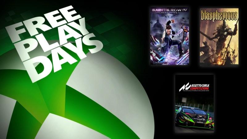 Juegos gratis: Saints Row IV: Re-Elected, Blasphemous y Assetto Corsa Competizione - juego-gratis-xbox