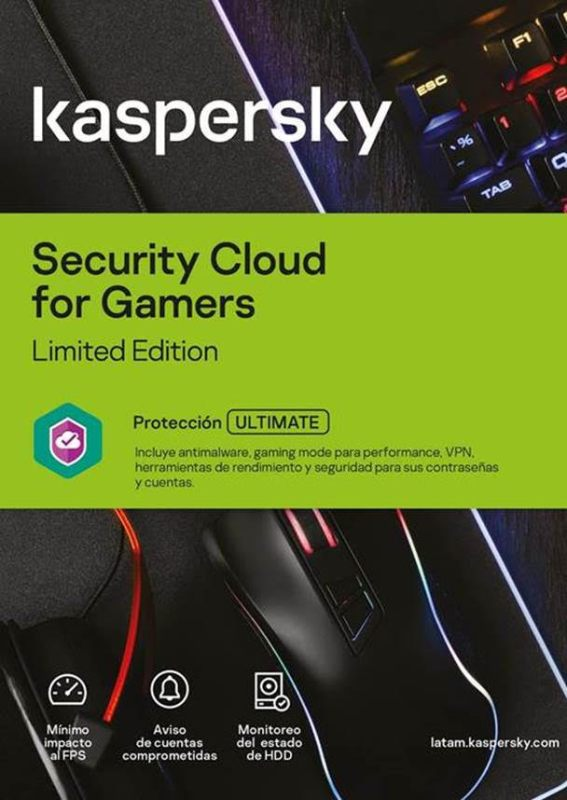 Kaspersky lanza edición especial de Kaspersky Security Cloud para gamers - kaspersky-security-cloud