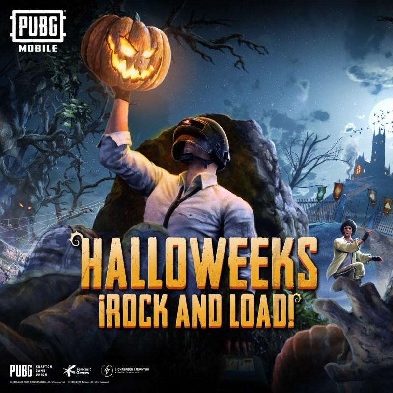 PUBG MOBILE recibe nuevo modo Halloweeks y disfraces temáticos - pubg-mobile-modo-halloweeks