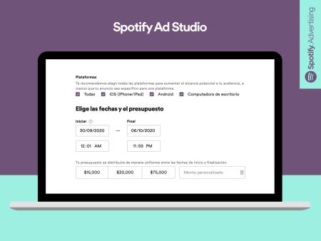 Spotify lanza Ad Studio, plataforma para que las Pymes de México puedan crea sus propias campañas
