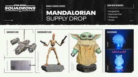 The Mandalorian llega a Star Wars: squadrons como contenido descargable el 28 de Octubre