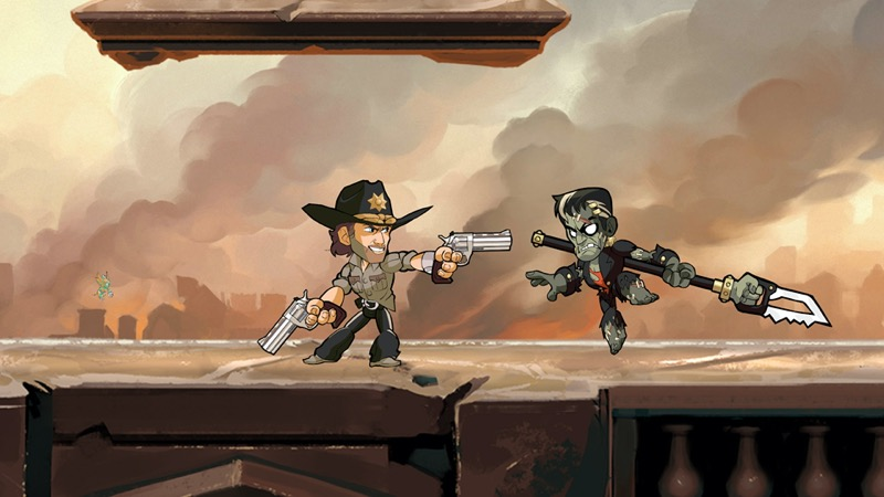Los personajes más icónicos de The Walking Dead, se unen a Brawlhalla como Crossovers Épicos el 14 de octubre - twd_rick1the-walking-dead-brawlhalla-800x450