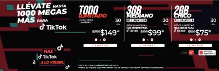 Virgin Mobile será el socio oficial de telefonía en México de TikTok