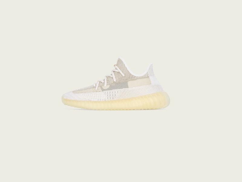 adidas y KANYE WEST lanza YEEZY BOOST 350 V2 Natural - yeezy_boost_350_v2_natural_left-800x601