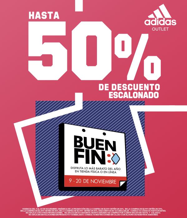 adidas presenta sus promociones para el Buen Fin 2020 - adidas-outlet-buen-fin-2020