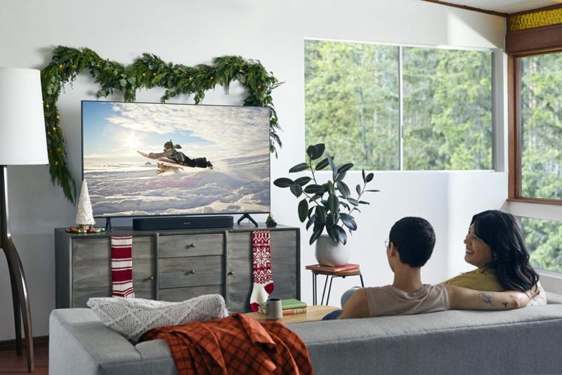 Sonos en El Buen Fin 2020 con promociones para los amantes de la música y el audio - beam_black-lifestyle-living_room-holiday-800x534