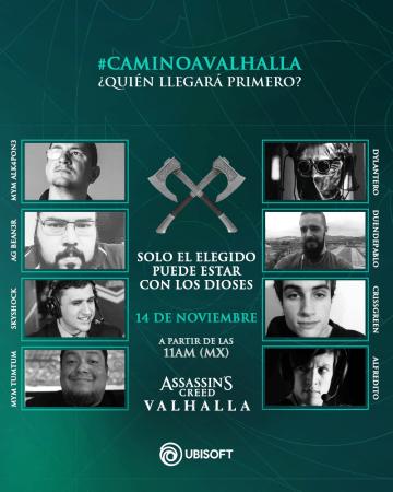 Stream especial del estreno de Assassin's Creed Valhalla ¡gana increíbles premios!