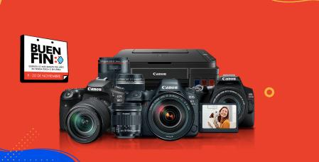 Canon en el Buen Fin 2020 con promociones en foto, video e impresión