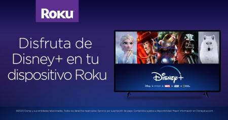 Disney Plus ya está disponible en la plataforma Roku en América Latina