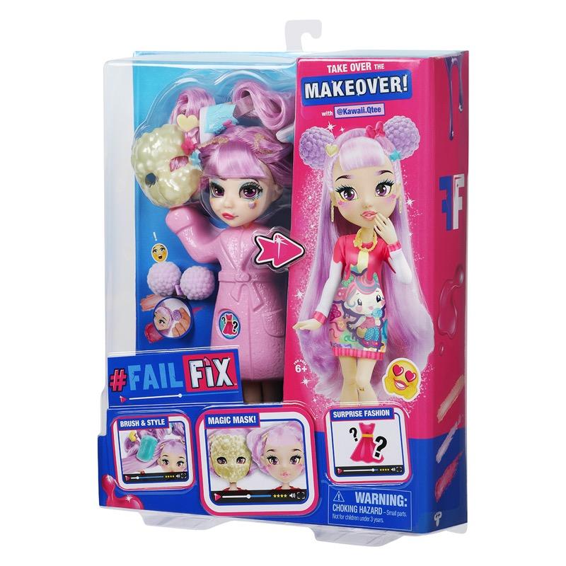 Fashion dolls Fail Fix, te convertirán en una experta en moda - fail-fix-muneca-articulada-kawaii-qtee_2