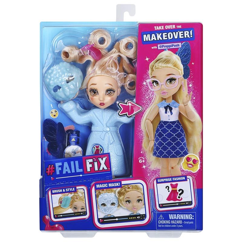 Fashion dolls Fail Fix, te convertirán en una experta en moda - fail-fix-muneca-articulada-preppi-posh_2