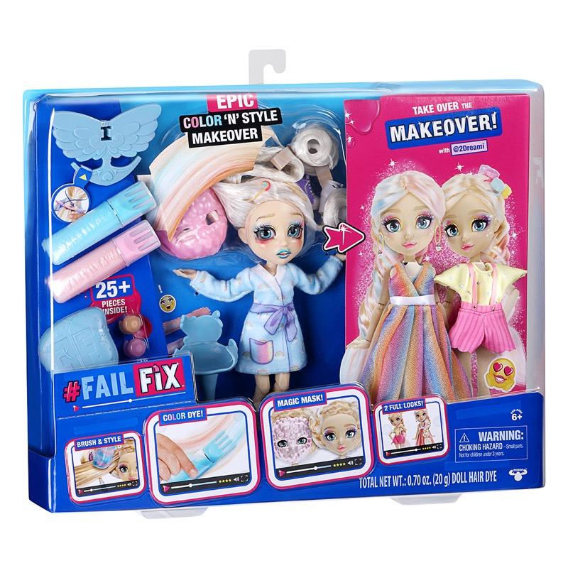 Fashion dolls Fail Fix, te convertirán en una experta en moda - fail-fix-muneca-cambio-de-imagen-pack-especial_3
