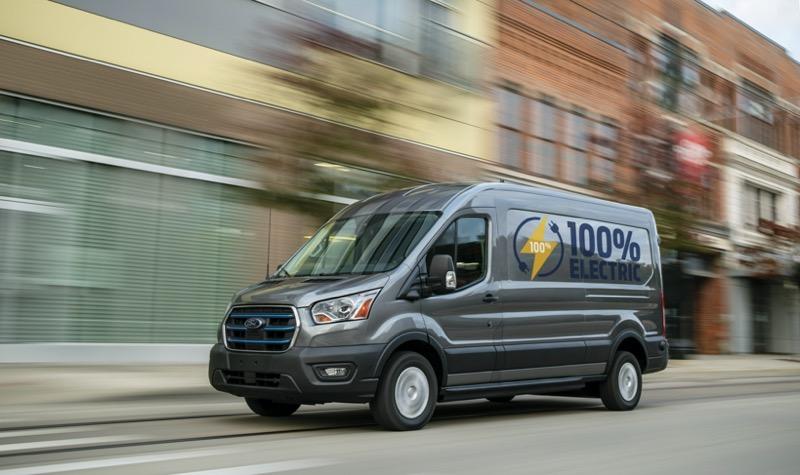 Nueva E-Transit de Ford, una versión totalmente eléctrica de la van de carga más vendida del mundo - ford-e-transit-800x475