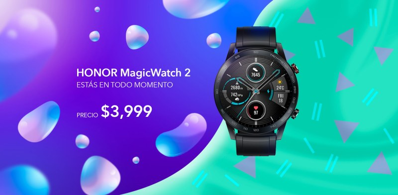 HONOR en el Buen Fin 2020 con increíbles promociones - magic-watch-2-honor