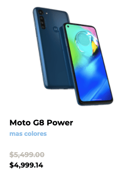 Las promociones de Motorola este Buen Fin 2020 - moto-g8-power-buen-fin-2020