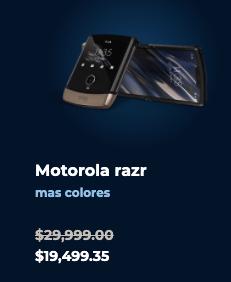 Las promociones de Motorola este Buen Fin 2020 - motorola-razr