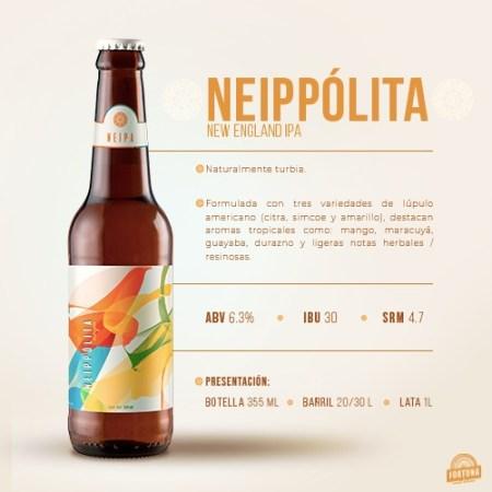 Cervecería Fortuna presenta la nueva integrante de su familia de cervezas de línea: Neippólita