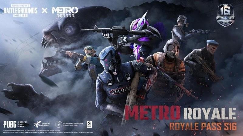 PUBG MOBILE colabora con Metro Exodus en su primer Royale Pass en conjunto para la Temporada 16 - pubg-mobile-metro-exodus_1-800x450