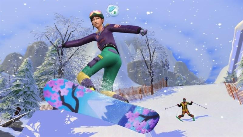 Nuevos juegos de Xbox que llegarán del 10 al 13 de noviembre - sims4_snowy_escape-800x450