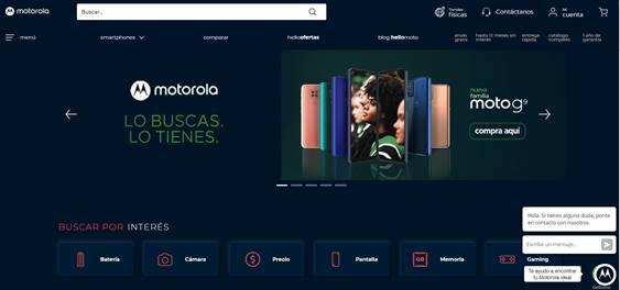 Motorola renueva su tienda online para ofrecer nuevos servicios y beneficios - tienda-online-de-motorola
