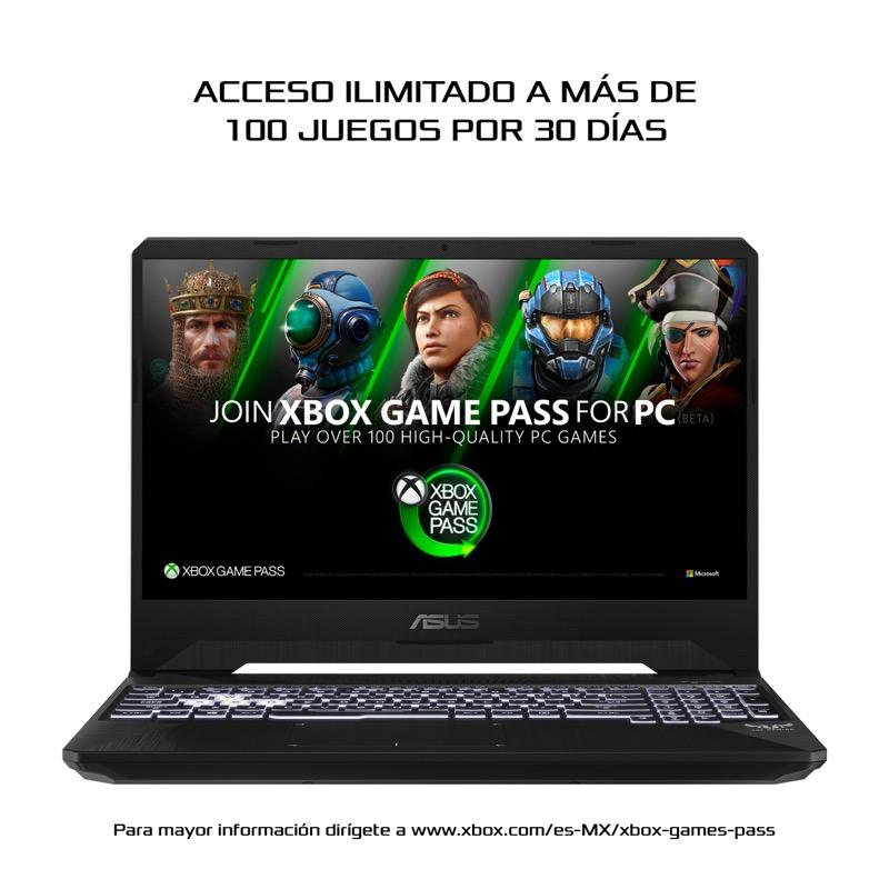 5 laptops de ASUS con atractivas promociones durante El Buen Fin 2020 - tuf-fx505gt