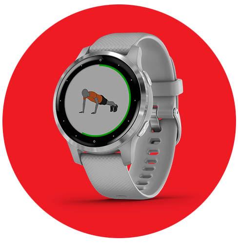 Garmin con descuentos en sus smartwatches en El Buen Fin 2020 - vivoactive-4s-garmin