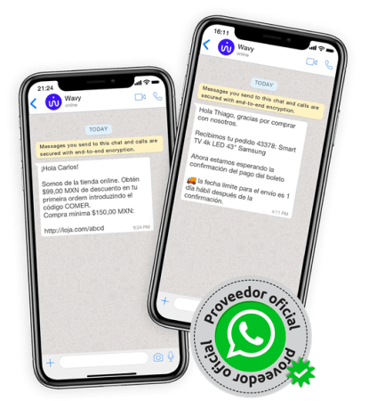WAVY será habilitador de las nuevas funciones de WhatsApp que permiten a las marcas ofrecer productos, servicios y descuentos