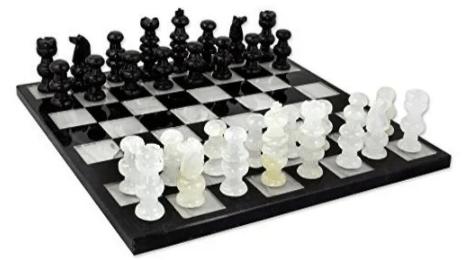La serie Gambito de Dama dispara las ventas de ajedrez en Mercado Libre - ajedrez-mercado-libre_tablero-de-marmol