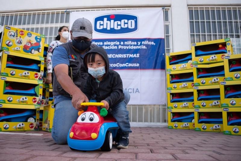 Fundación Providencia y Chicco México, unidos para llevar alegría navideña a niñas y niños - fundacion_providencia_chicco_mexico_1