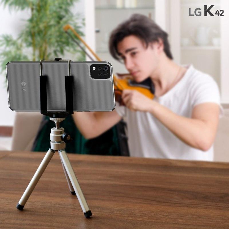 Haz de tu primer smartphone una experiencia única, te decimos como lograrlo - lg-k42-smarphone-800x800