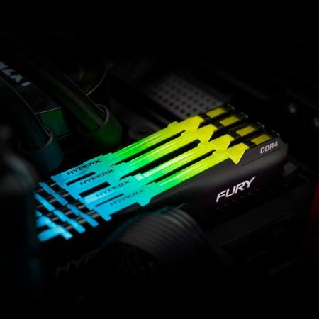 HyperX lanza extensión de la línea de memoria FURY DDR4 RGB