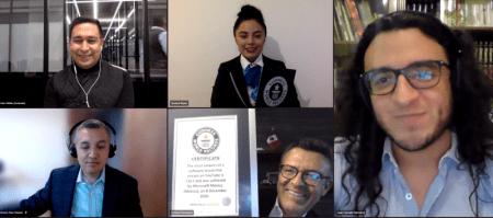 Microsoft capacita a jóvenes mexicanos en línea y rompe récord