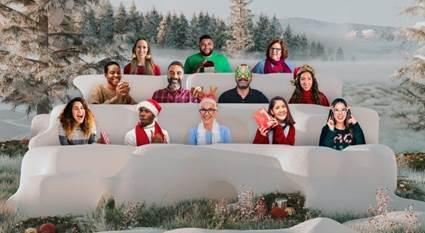 Microsoft Teams anuncia nuevas experiencias que incluyen escenas festivas y fondos personalizados