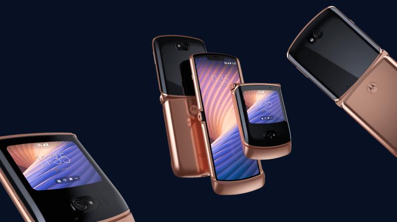 Nuevo RAZR 5G llega a México ¡El icónico smartphone plegable de Motorola, llega renovado! - motorola_razr_5g_blush_gold
