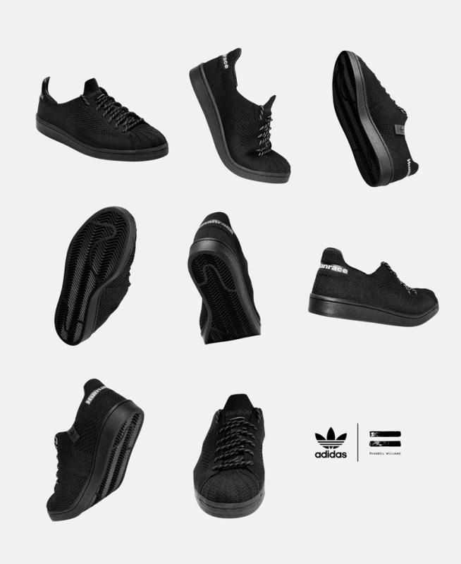 """adidas y Pharrell Williams anuncias su colección colaborativa """"Pharrell Williams Triple Black"""" - pharrell_williams_triple_black_2-654x800"""