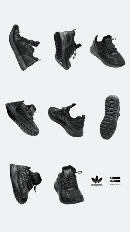 """adidas y Pharrell Williams anuncias su colección colaborativa """"Pharrell Williams Triple Black"""" - pharrell_williams_triple_black_3-450x800"""