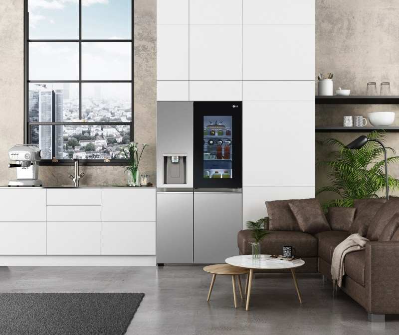 CES 2021: los nuevos refrigeradores LG Instaview con tecnología UVnano - refrigeradores_instaview_door-in-door-800x673