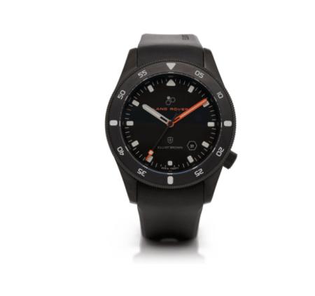 Nuevo reloj profesional Land Rover x Elliot Brown Holton