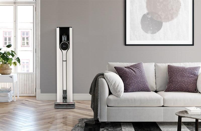 CES 2021: LG presentará aspiradora inalámbrica LG CordZeroThinQ A9 Kompressor+ - 2021_lg_cordzero_charging-_station-800x523