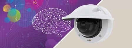 Axis lanza la primera cámara de domo fija con tecnología de IA