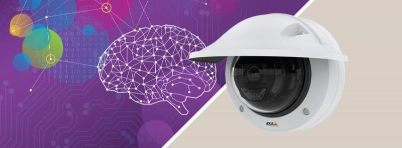 Axis lanza la primera cámara de domo fija con tecnología de IA - camara-de-domo-fija-potente-tecnologia-ia-800x296