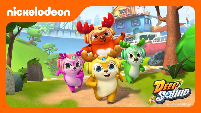 Nickelodeon estrenará la serie de animación Deer Squad - deer-squad