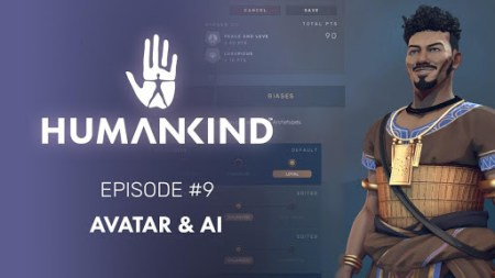 Humankind recibe nuevo video con enfoque en su sistema de Avatar e Inteligencia Artificial
