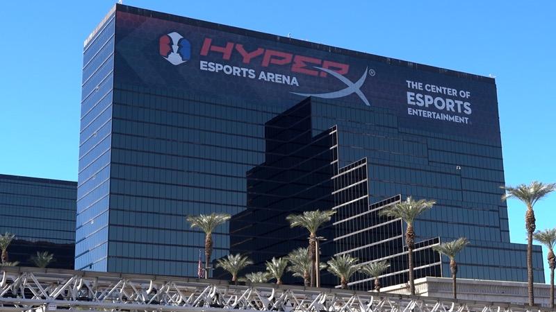 HyperX y Allied Esports renuevan el acuerdo de derechos de nombres para HyperX Esports Arena Las Vegas - hyperx-esports-arena-las-vegas-tower-day